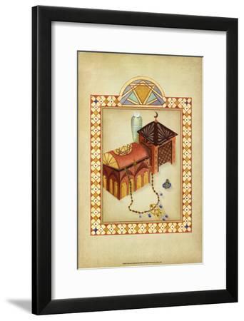 Moroccan Treasures II-Vanna Lam-Framed Art Print