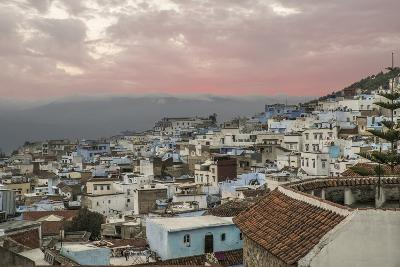 Morocco, Chaouen. Range of the Rif Mountains in the Background-Emily Wilson-Photographic Print