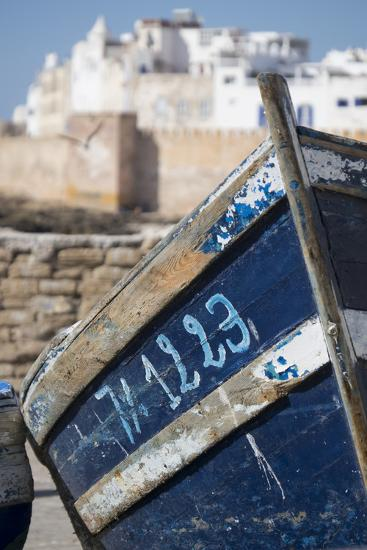 Morocco, Essaouira, Fishing Boat-Emily Wilson-Photographic Print