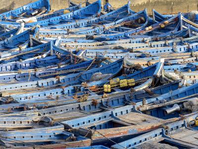 Morocco, Essaouira Fishing Port-Charles Bowman-Photographic Print