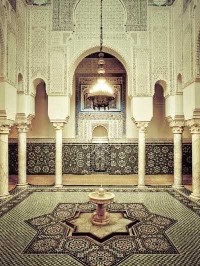 Morocco, Meknes, Medina (Old Town), Moulay Ismal Mausoleum-Michele Falzone-Photographic Print