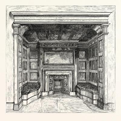 Morris and Co., Chimney Piece in the Ambassadors' Room, St. James's Palace, London, Uk--Giclee Print