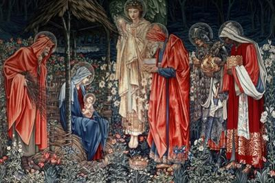 The Adoration of the Magi, Tapestry, 1890 by Morris & Co