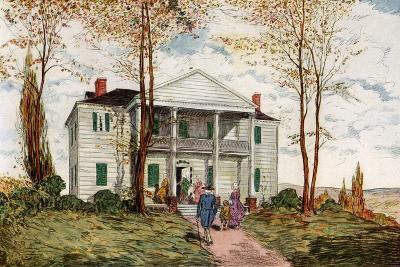 Morris-Jumel Mansion, Washington Heights, C18th Century-James Preston-Giclee Print