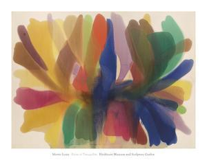 Point of Tranquility, (1959-1960) by Morris Louis