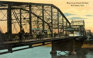 Morrison Street Bridge, Portland, Oregon