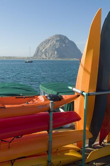 Morro Bay, California, Usa Canoes-Natalie Tepper-Photo