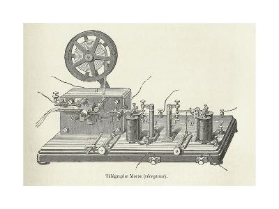 Morse's Telegraph Receiver-Science, Industry and Business Library-Giclee Print