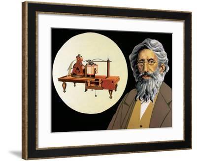 Morse, Samuel (1791-1872). American Inventor.-Tarker-Framed Photographic Print