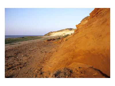 Morsum cliff near Morsum, Sylt, Schleswig-Holstein, Germany--Art Print