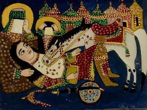 Mort de Ali Akbar sur le champ de bataille de Kerbelâ