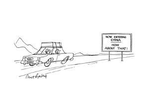 New Yorker Cartoon by Mort Gerberg