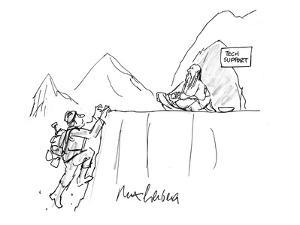 Tech Support - Cartoon by Mort Gerberg