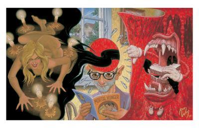 Mortal Hunger-Robert Williams-Collectable Print