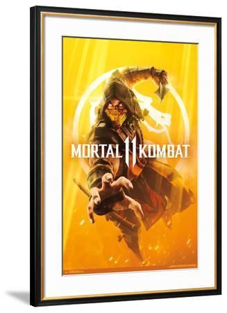 Mortal Kombat 11 - Key Art--Framed Poster