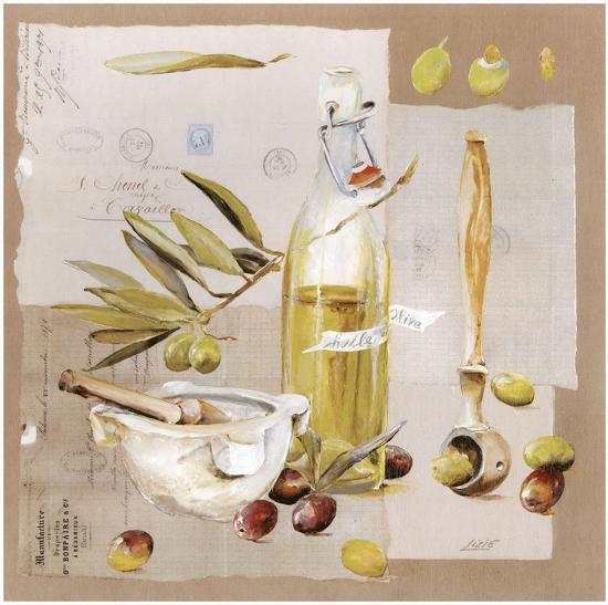 Mortier Huile D'Olive-Lizie-Art Print