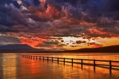 Mortimer Bay Sunset-Margaret Morgan-Photographic Print
