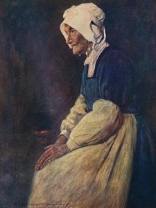 'A Breton Woman', 1903 by Mortimer L Menpes