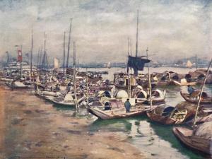 'A River Scene', 1903 by Mortimer L Menpes