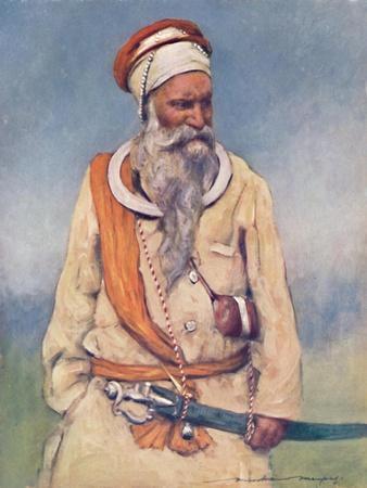 'A Sikh Warrior', 1903