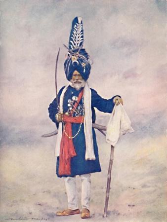 'Akalis Fanatical Devotee', 1903