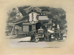 'At Kioto', 1903 by Mortimer L Menpes