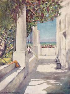 'Capri', 1903 by Mortimer L Menpes