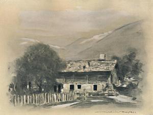 'Chalet near Lucene', 1903 by Mortimer L Menpes