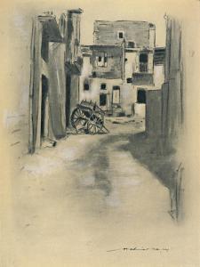 'Deserted Houses', 1903 by Mortimer L Menpes