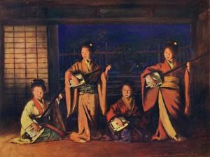 'Geisha Girls', 1903 by Mortimer L Menpes