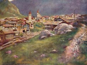 'Goeschenen', 1903 by Mortimer L Menpes