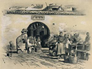 'In the City of Shanghai', 1903 by Mortimer L Menpes