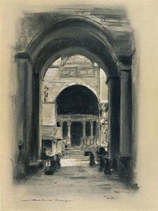 'Inside St. Mark's, Venice', 1903 by Mortimer L Menpes