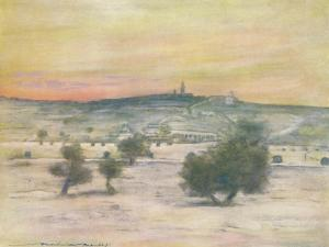 'Jerusalem', 1903 by Mortimer L Menpes