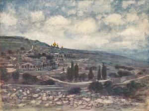 'Mount of Olives', 1903 by Mortimer L Menpes