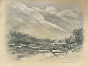 'Neighbourhood of Chamounix', 1903 by Mortimer L Menpes