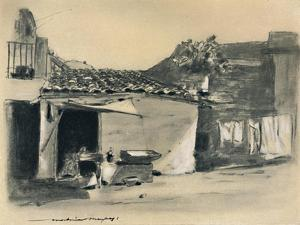 'On the Outskirts of Palermo', 1903 by Mortimer L Menpes