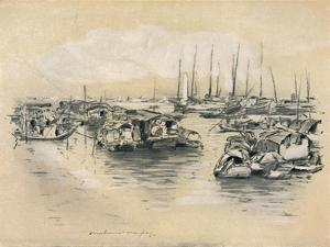 'On the Yellow River', 1903 by Mortimer L Menpes