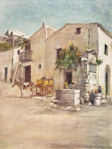 'Palermo', 1903 by Mortimer L Menpes