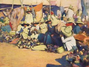 'Puebla', 1903 by Mortimer L Menpes