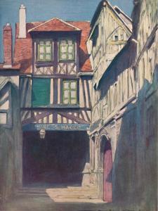 'Rouen', 1903 by Mortimer L Menpes