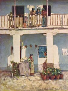 'Seville', 1903 by Mortimer L Menpes