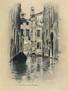 'Street in Venice', 1903 by Mortimer L Menpes
