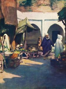 'Tangier', 1903 by Mortimer L Menpes