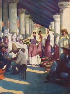 'Tehuantepec', 1903 by Mortimer L Menpes
