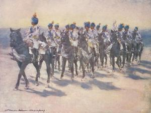 'The Imperial Cadet Corps at the Durbar', 1903 by Mortimer L Menpes