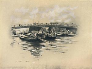 'The Ogara River at Tokio', 1903 by Mortimer L Menpes