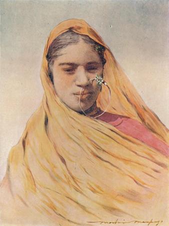 'A Native Bride', 1905