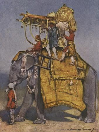 Indian state elephant - 19th century