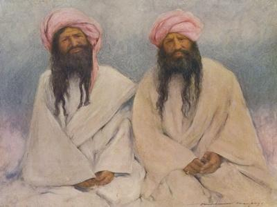 Two Baluchi chiefs - early 20th century